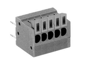 LMI 001254 HIGH DENSITY/ LOW PROFILE VERTICAL/SNAP ON MODULES CONNECTOR