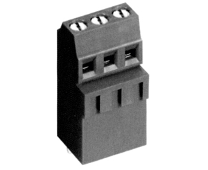 001381SMLH HIGH DENSITY/ LOW PROFILE SOLID MOLD CONNECTOR