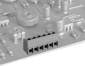 04135SM HIGH DENSITY/ LOW PROFILE SOLID MOLD CONNECTOR