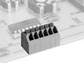 LMI 04135SP HIGH DENSITY/ LOW PROFILE SNAP ON MODULES CONNECTOR