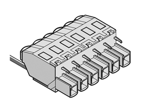 LMI 2454 INDUSTRY STANDARD PLUGGABLE TERMINAL BLOCKS WITH FRONT WIRE ACTUATION