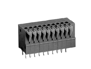 LMI 261254 HIGH DENSITY/ LOW PROFILE VERTICAL/SNAP ON MODULES CONNECTOR