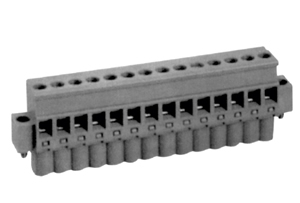 LMI 26251 INDUSTRY STANDARD PLUGGABLE TERMINAL BLOCKS WITH LOCKING FLANGES