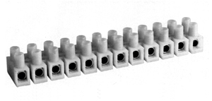 431NYLP Nylon Panel Mount Feed Through Terminal blocks